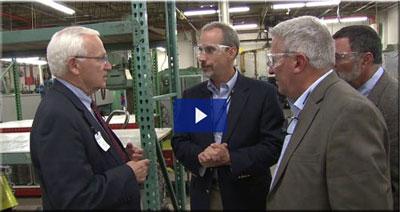Senate Caucus Tours Lycoming Engines (Video)
